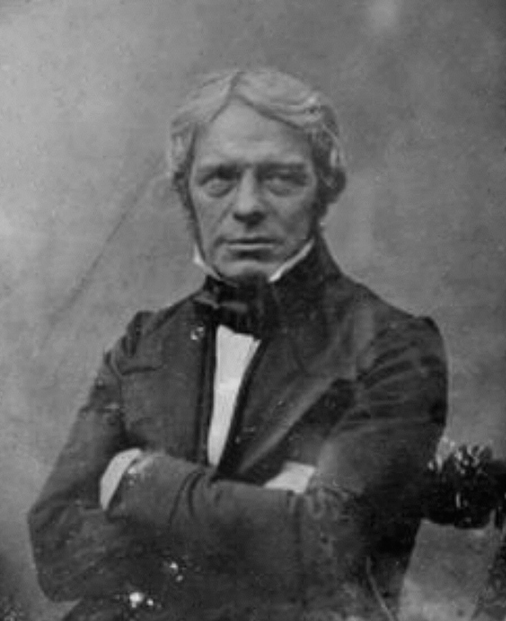 Michael Faraday (1791 - 1867)  inventor of the electronic transformer