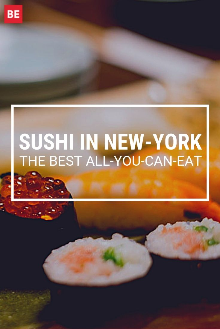 The Best All You Can Eat Sushi Restaurants In New York