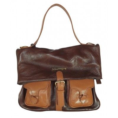 Bolsa Mochila de Couro Feminina Marrom. Bolsa mochila feminina de couro. Bolsa que vira mochila. Notore Bolsas.