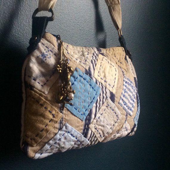 Лоскутное одеяло сумки, ручной стеганые кошелек, маленький стеганая сумка ручной работы косметическая сумка