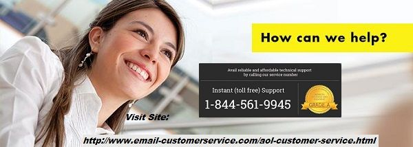 Are you tolerating such unidentified AOL technical bugs that may come every day in your aol mail account and trouble your workflow? You have better opportunity to connect with the team of experts at AOL customer care number 1-844-561-9945  and let all your confusions about AOL email issues get clarified in seconds over the call or AOL live chat.