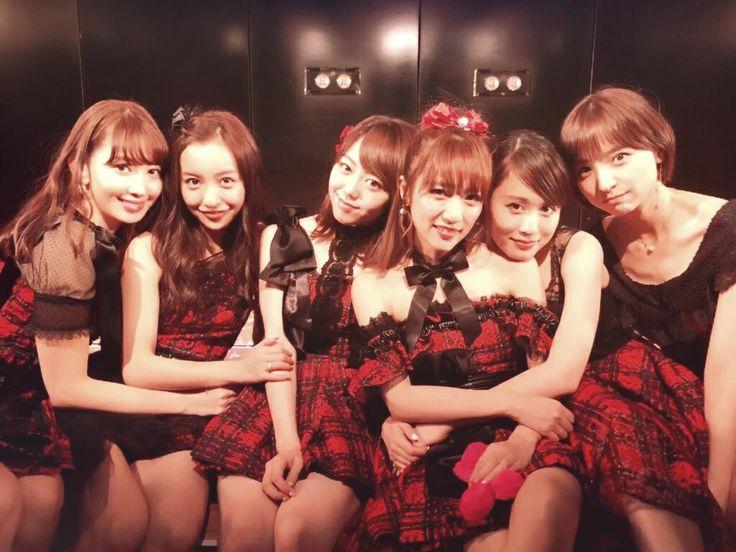 Kojiharu, Tomochin, Miichan, Takamina , Acchan and Mariko #AKB48 #AKB10