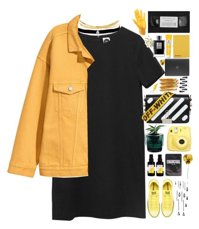 """""""untitled #8"""" by parkeunseo on Polyvore featuring Lana Jewelry, Amanda Rose Collection, Converse, Sisley, Nude, Fujifilm, Off-White, Marc, Forever 21 and Incase"""