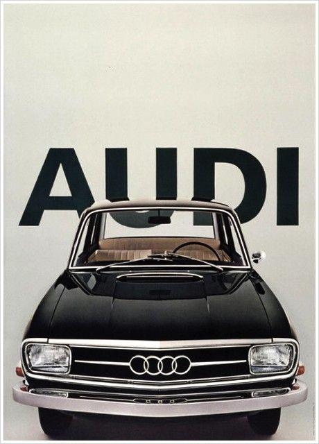 Vintage Audi Poster by Armin Hofmann