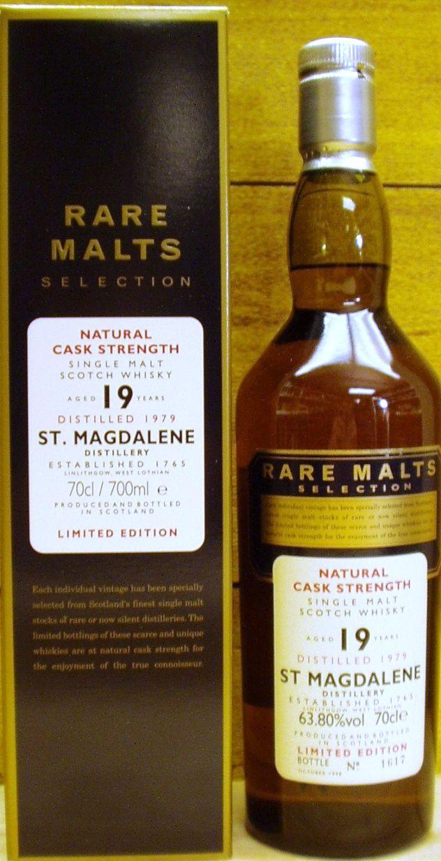 Bottler Rare Malts Age 19 Year Old Vintage 1979 Bottling Date October 1998 Country Scotland Region Lowland Price €1,187.65