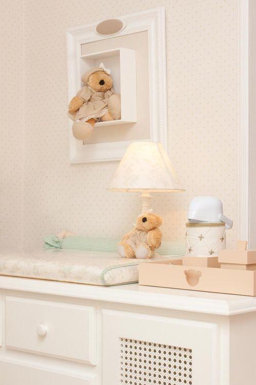 Quarto de Bebê Urso Théo by Dip en Dap - Decoração de Quartos de Bebês - Guia do Bebê