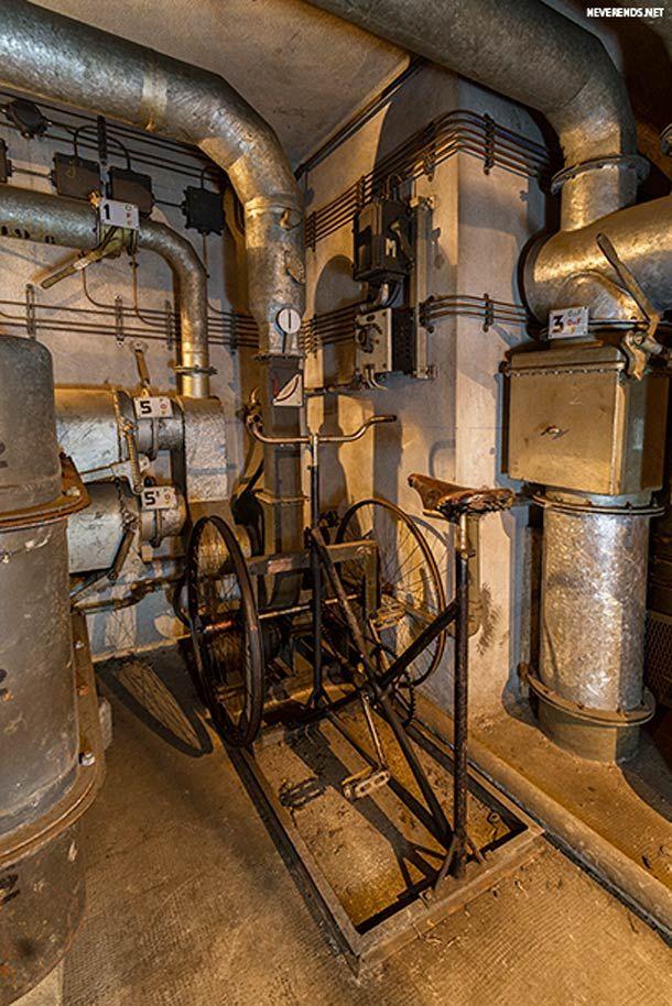 Un ancien bunker sous la gare de l'est