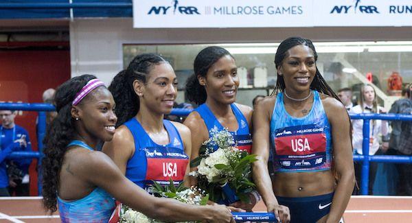 US Women Break 4x800m Relay Record at Millrose Games - https://www.okay.ng/189351    #Millrose Games #US Women - #Sports News