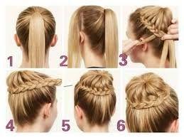 Resultado de imagen para peinados faciles