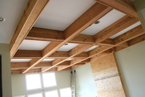 Cabinets Beams Amp Basement Floors Timber Ceiling