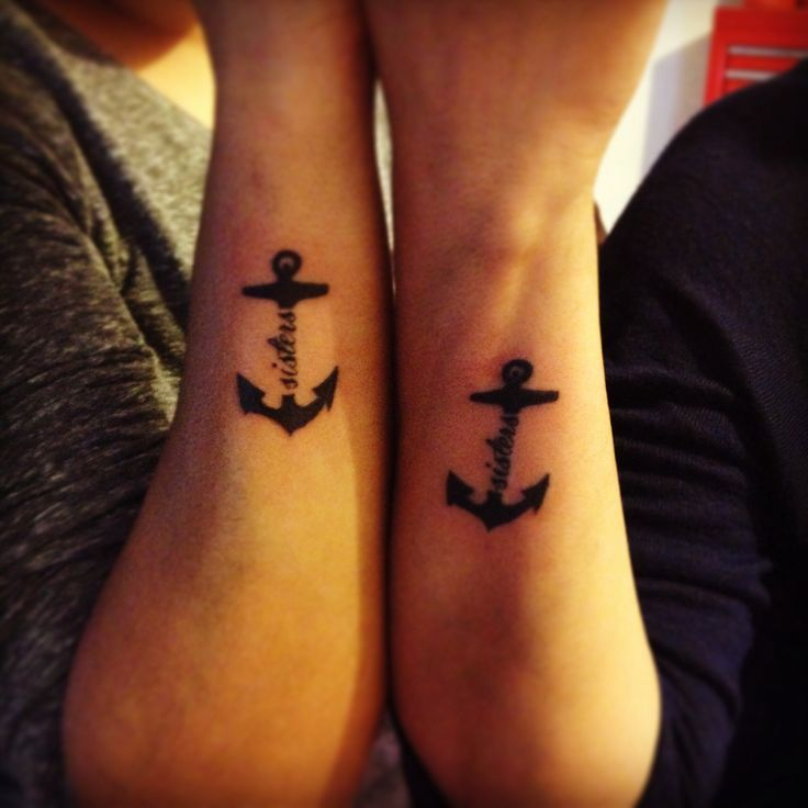 sister anchor tattoos - Google Search