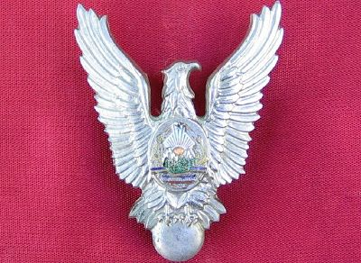COCKTAILVINTAGEBAZAAR: Romanian air force pilot badge during communist era.