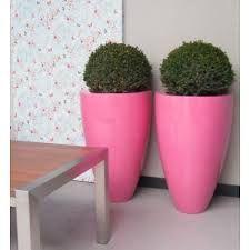 Bloembakken, plantenbakken, haagbakken, boombakken in polyester hoogglans (verkrijgbaar in verschillende kleuren en op maat)