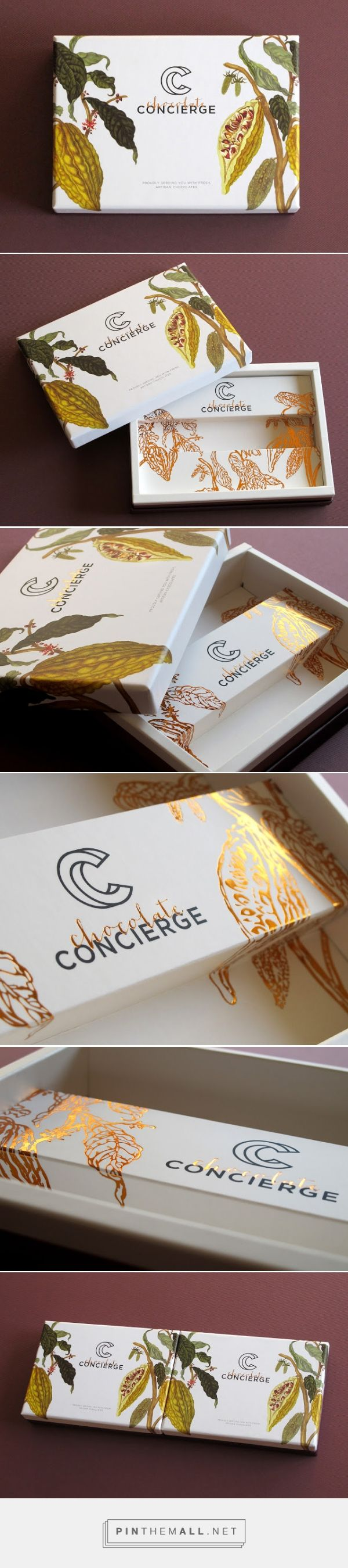 Chocolate Concierge Designed by Anagraphic