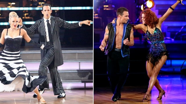 """Dancing With The Stars"" pairs professional ballroom dancers with celebrities in a competitive dance competition."