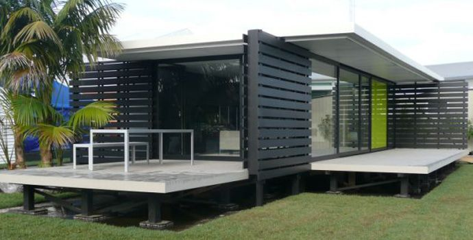 ipad prefab house from new zealand modern houses pinterest new