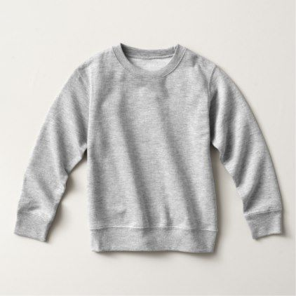 #Toddler Fleece Sweatshirt T-Shirt 6 colors - #birthday #gifts #giftideas #present #party