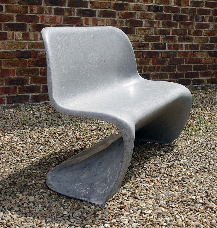 Commissions: Stone Effect Panton bench for Vitra Anniversary
