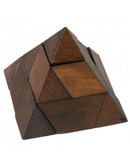 Puzzle 3D de Madeira - Pyramid