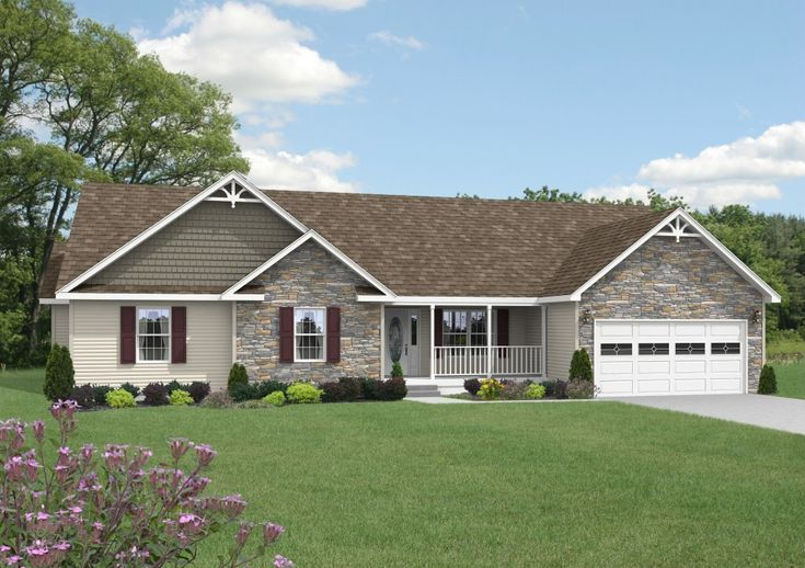 Home the o 39 jays and ranch homes on pinterest for Ranch style house characteristics