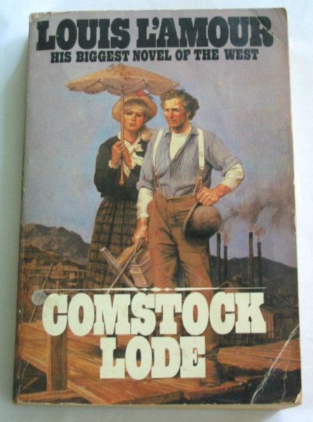 COMSTOCK LODE by  Louis Lamour Bantam Books by TheVintageRead, $4.95