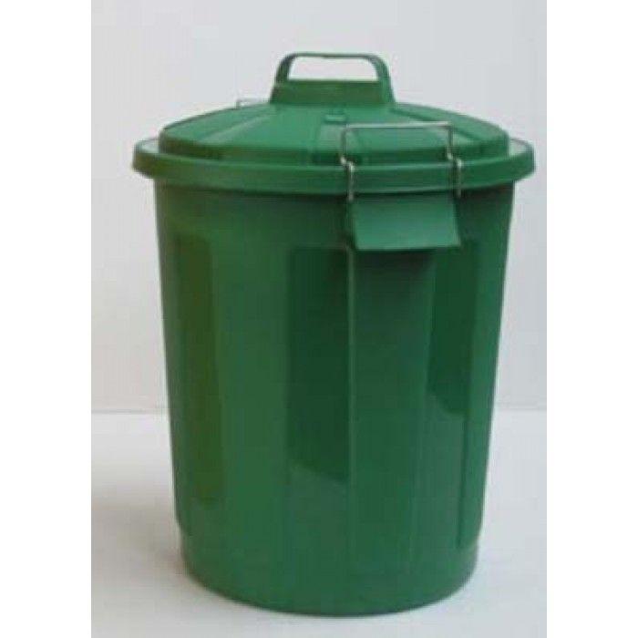 Contenitore rifiuti con coperchio ermetico