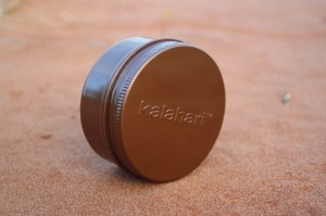 Kalahari Lip Balm, Wild Honey Blend.  This nourishing Lip Balm will calm and sooth dry chapped lips immediately, leaving them smoothed and noticeably moist. Rich in essential fatty acids and vitamins.