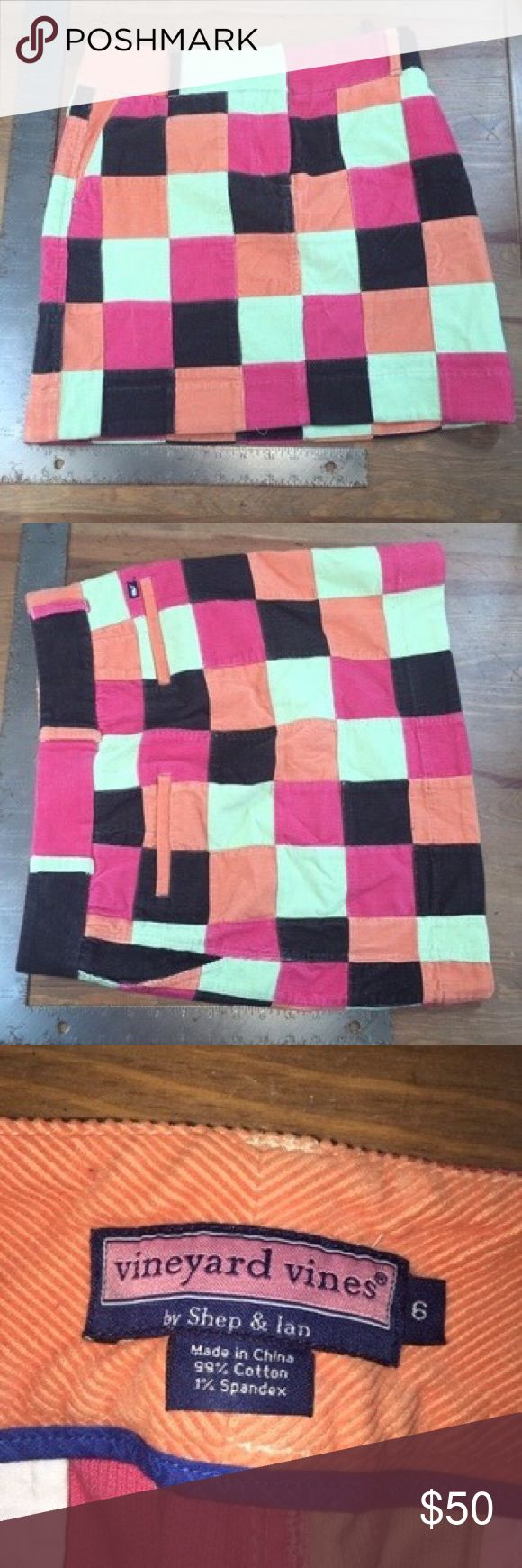 Vineyard Vines Skirt Orange This skirt is in excellent condition. Guaranteed authentic item and a must have item! We are unable to model items or take sales to PP. Willing to negotiate using the offer button. No trades. Happy Poshing! Vineyard Vines Skirts