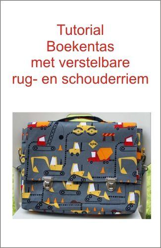 Schoolbag. Tutorial boekentas