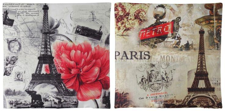 """Set de perne decorative """"Bistro de Paris"""""""