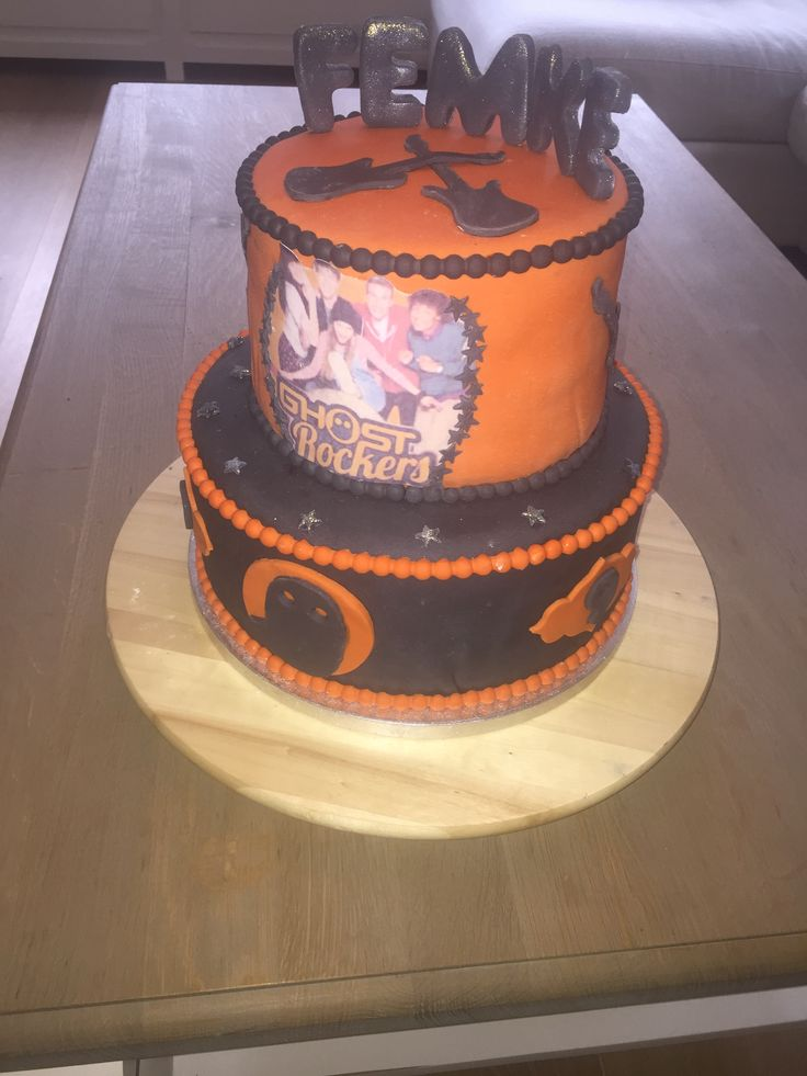 Ghost Rockers taart  Ghost Rockers cake