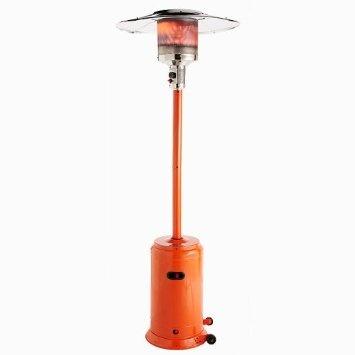 Amazon.com: Fire Sense Powder Coated Patio Heater, Orange: Patio, Lawn & Garden