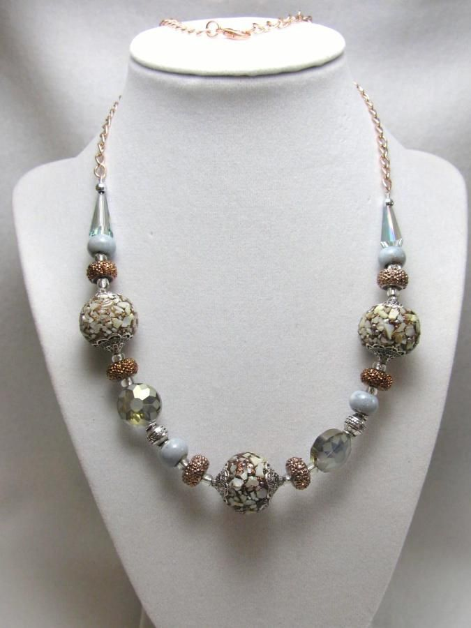 Winter Warmth - Jewelry creation by Linda Foust