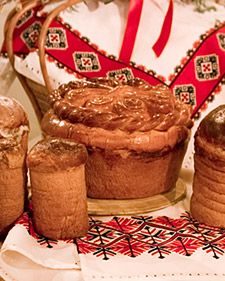 Ukrainian Easter Bread With Lubow