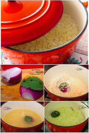 ARROZ PILAF - Mais um receita super prática para ajudar seu jantar e sua vida.  Arroz de forno, mas com um aroma e um sabor todo especial.  O arroz pilaf é uma receita proveniente do oriente médio, talvez por isso, todos esse aromas e sabores...  Experimente... É deslumbrante.