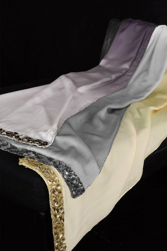 Donna Karan Modern Classics Ombre Silk Bed Scarf