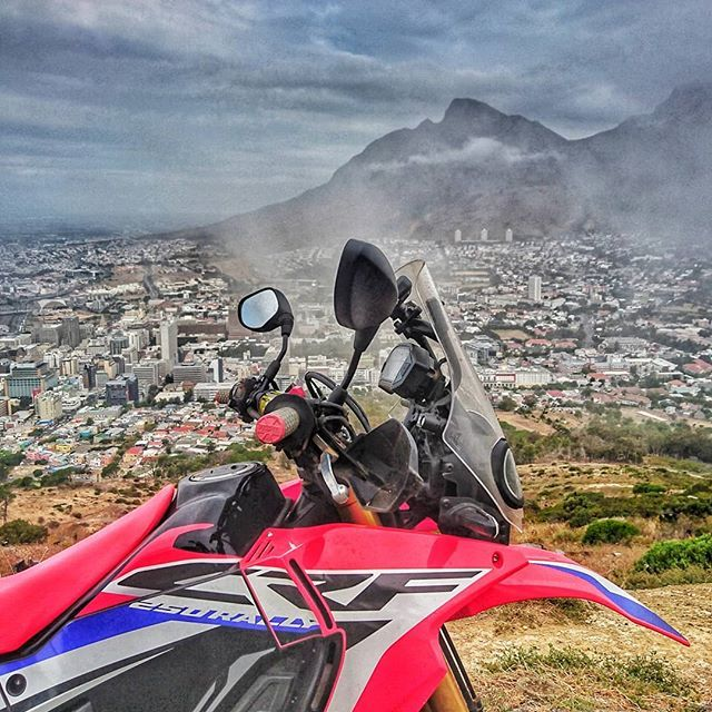 Rally in the mist #motorcyclesforeveryone #hondacrf #cfr250rally  #hondasouthafrica #smallbikesbigfun #dualsportlife #ridemore  #ratherberiding