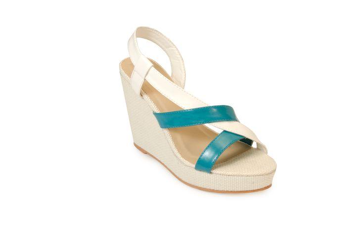 SEATTLE White/Blue R389.00 from www.madisonheartofnewyork.com follow us on Twitter @Madison Shoes SA