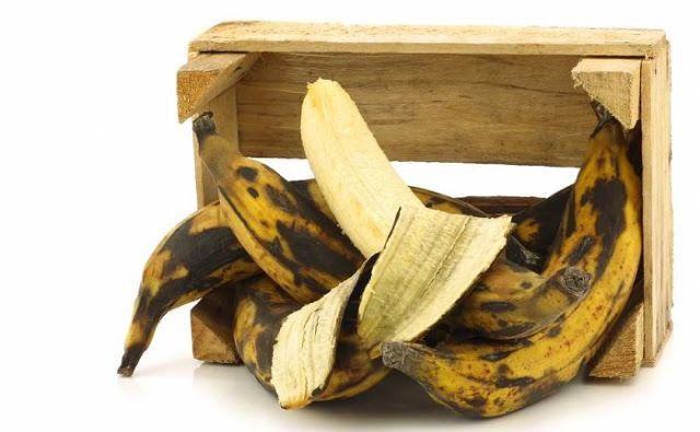 Όσο πιο ώριμη η μπανάνα, τόσο καλύτερα