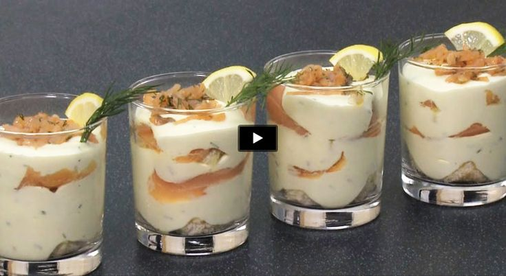 Voici la recette des tiramisus au saumon fumé. Un véritable délice sucré-salé.