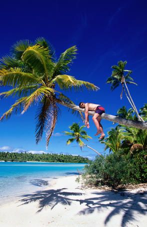 I want to be this guy! Cook Islands