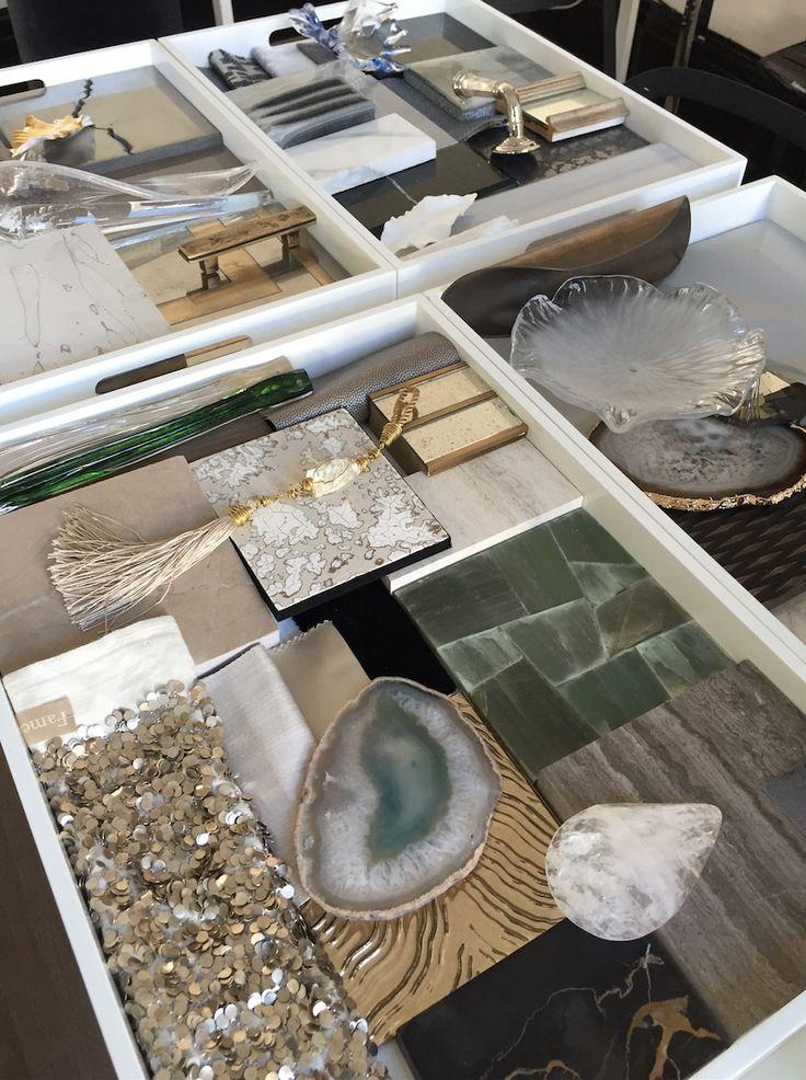 Mood board i doha presentation i bm design london board for Material table design