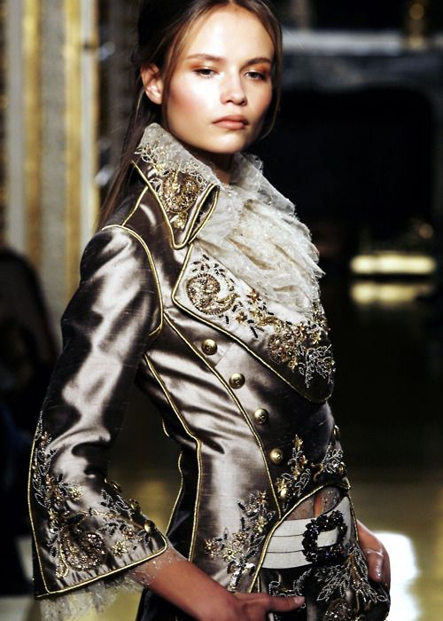 .Fashion, Zuhair Murad, Details, Style, Clothing, Silver, Jackets, Murad South, Haute Couture