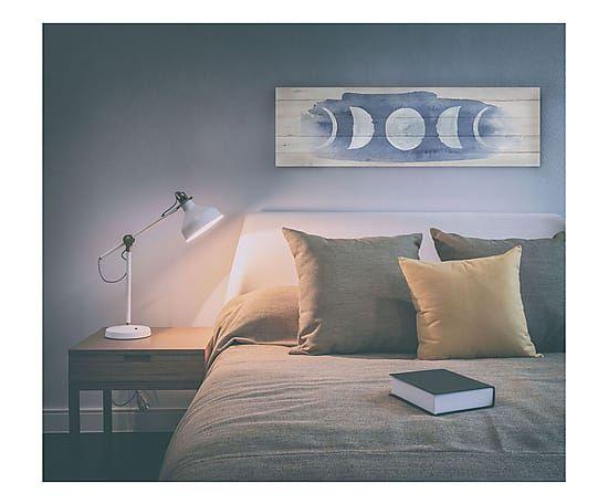 Testata letto in legno di pino Mood, 120x30x4 cm