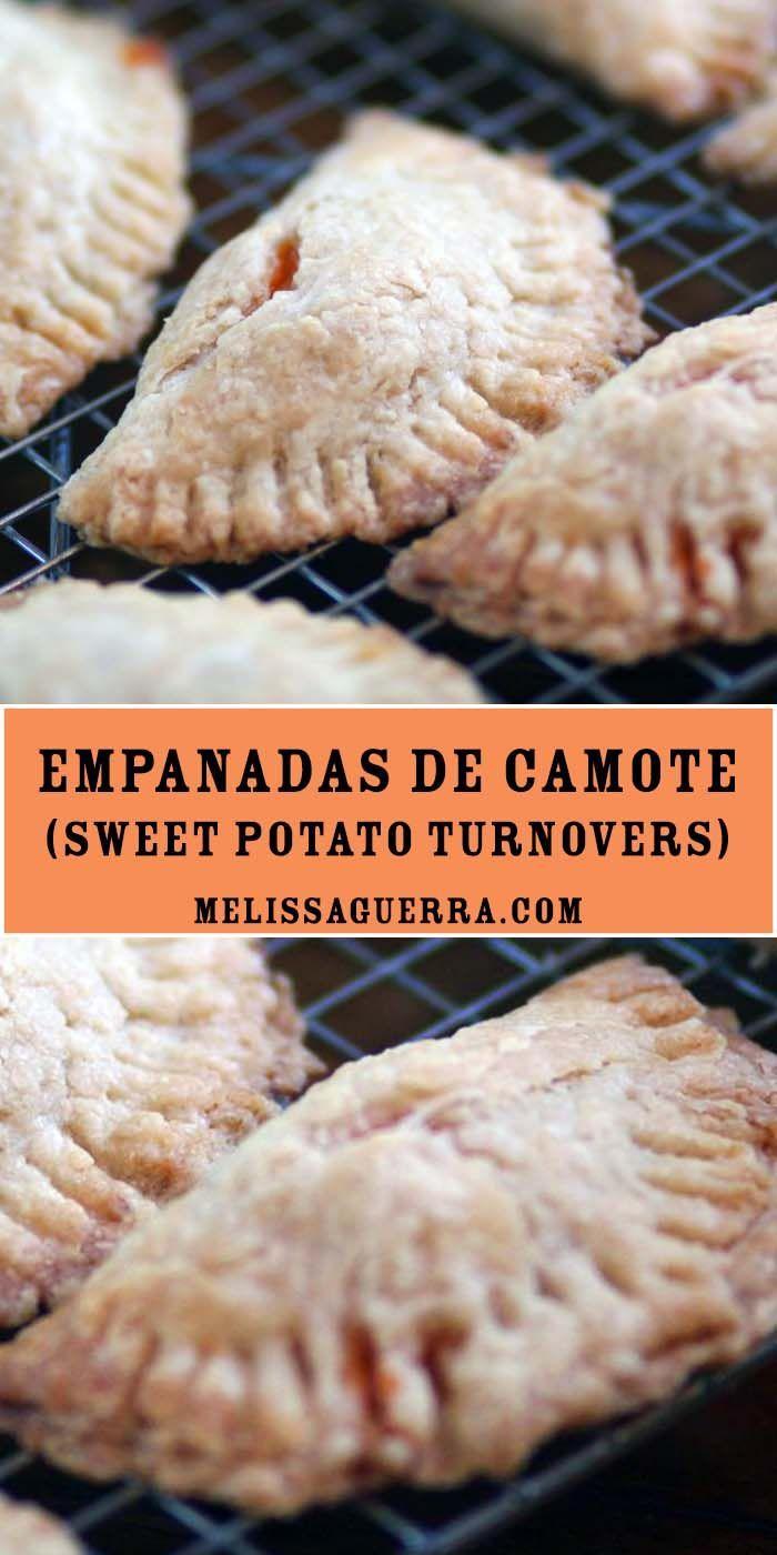 Empanadas de Camote: Sweet Potato Turnovers. Sweet, crispy, and delicious.