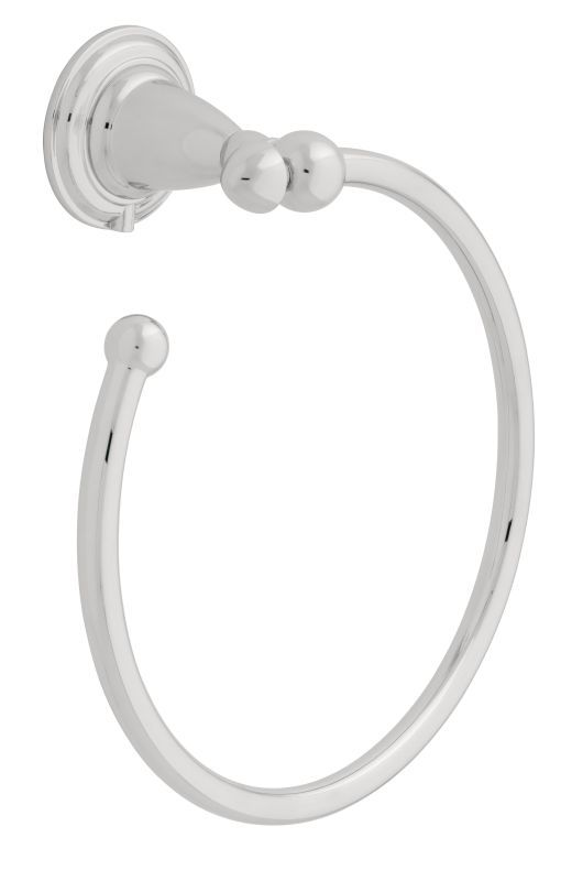 "Liberty Hardware 75046 6 3/8"" Diameter Contemporary Towel Ring from the Delta Vi Polished Chrome Accessory Towel Ring"