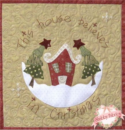 This House Believes in Christmas BOM - Block of the Month @ http://www.shabbyfabrics.com/-This-House-Believes-in-Christmas-BOM-Block-of-the-Month-P23628.aspx?categoryid=29