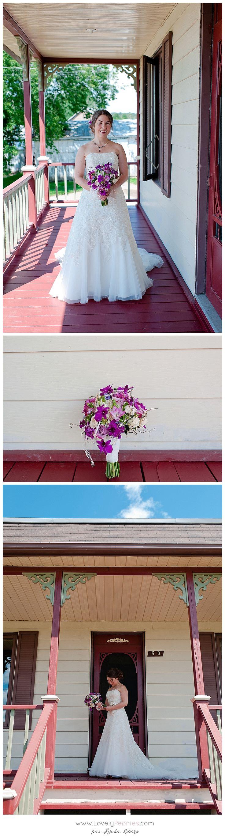 www. Lovelypeonies.com - Reportage mariage au moulin seigneurial de Pointe du lac