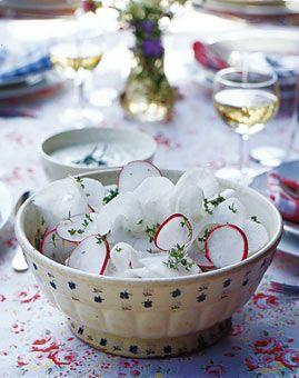 Rettich-Radieschen-Salat - Deftiges zum Oktoberfest - [LIVING AT HOME]
