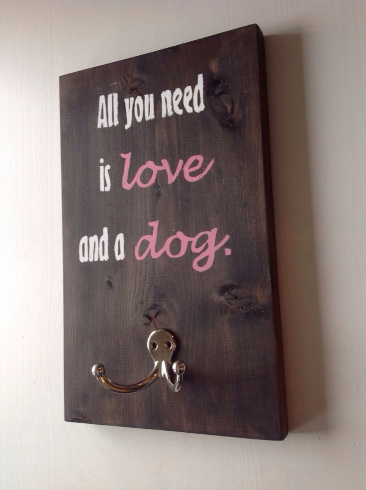 Dog leash holder Made to Order All you need is by thepetcottage, $20.00